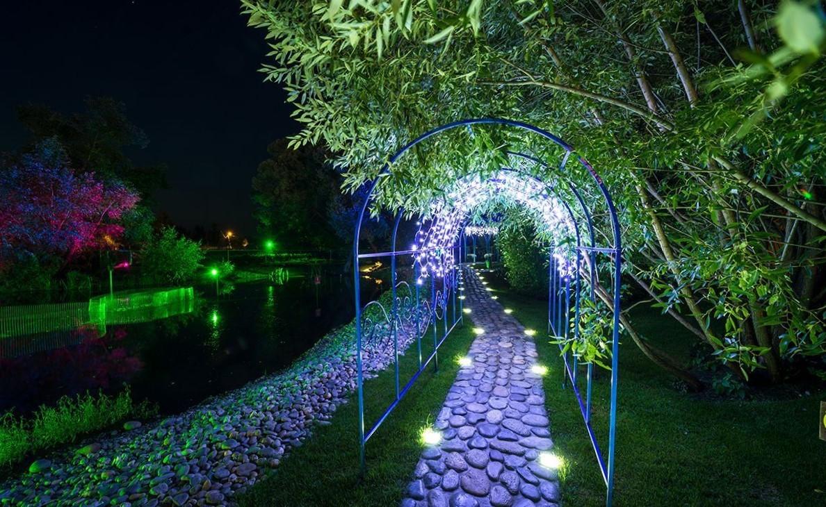 изображение подсветки дорожки