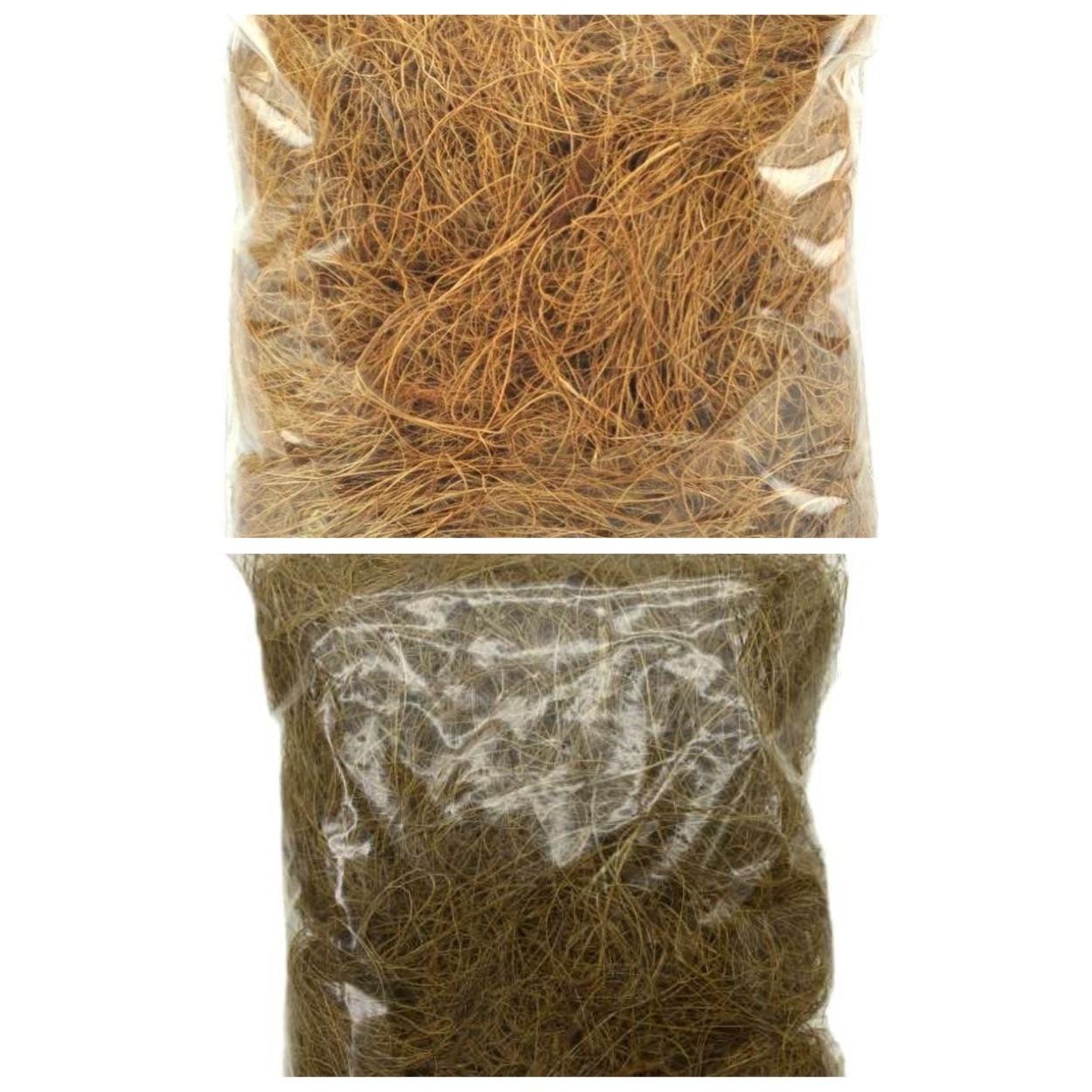 изображение кокосового волокна для дренажа растений
