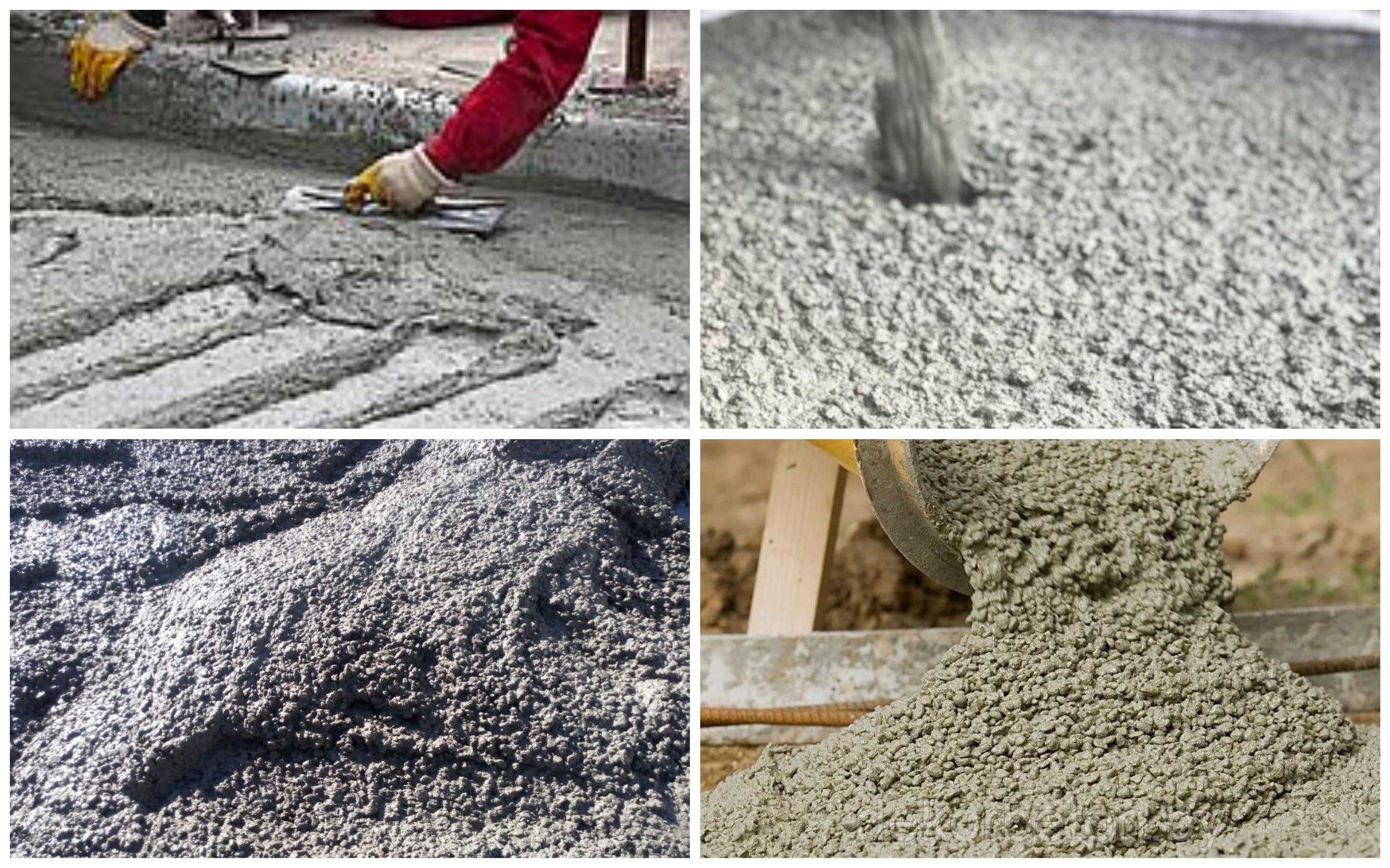 изображение бетонного раствора при работе с заделыванием швов тротуарной плитки