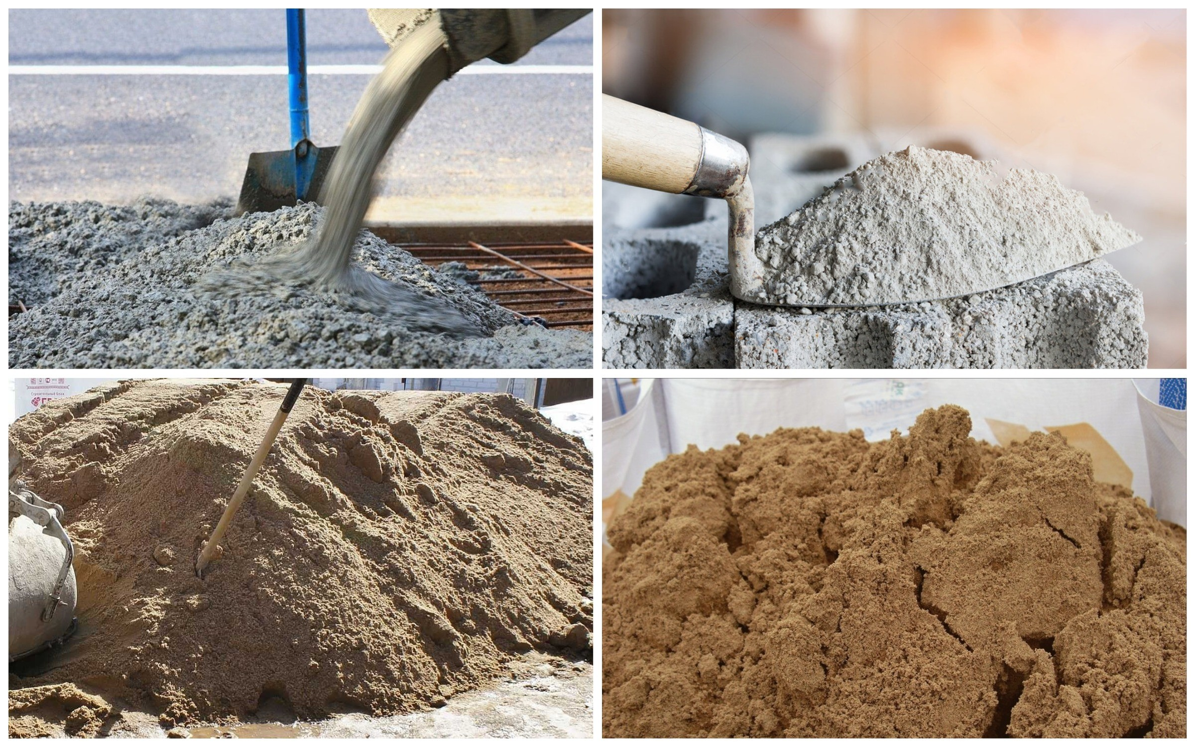изображение изготовления бетонного раствора