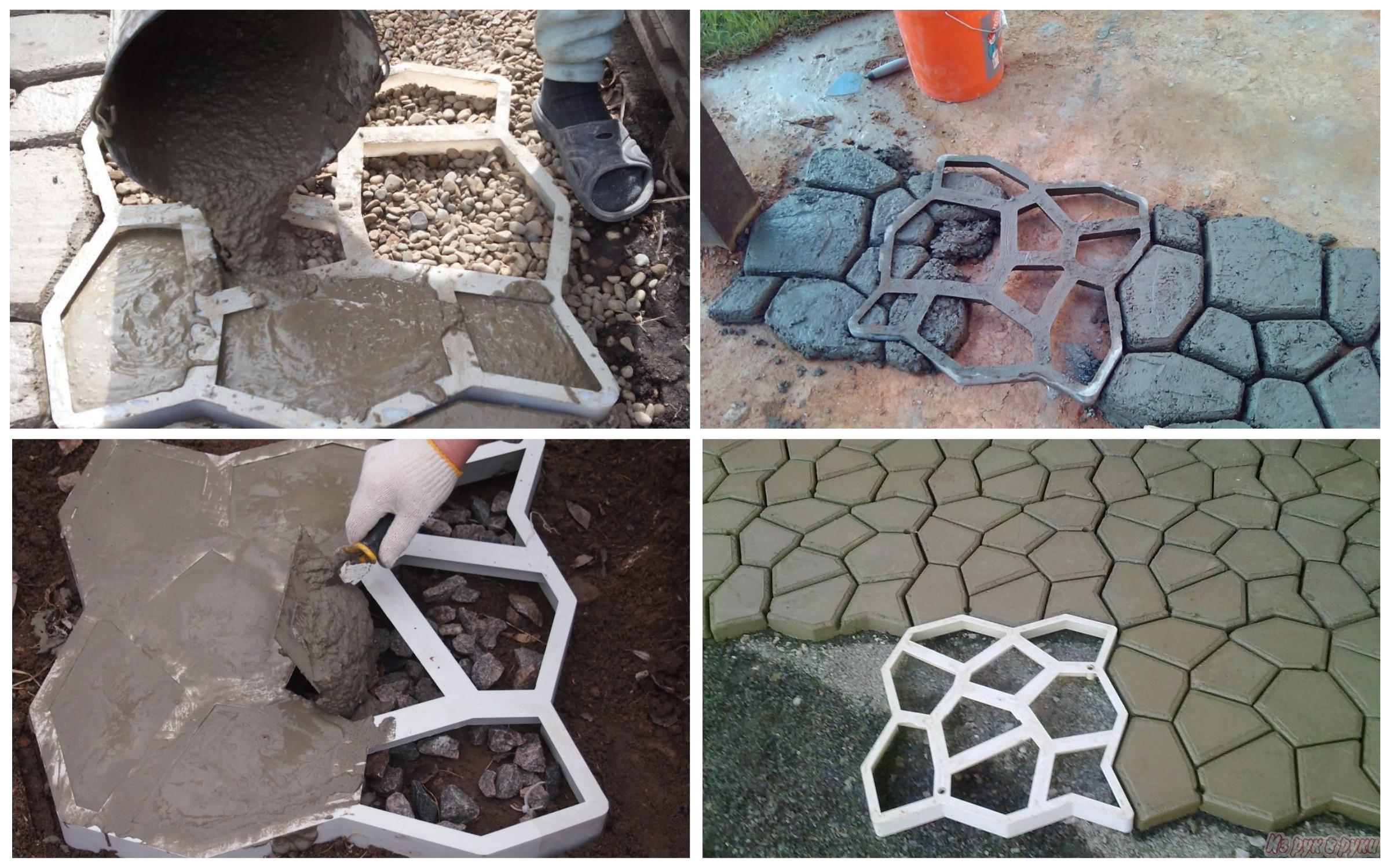 изображение заливки бетона в формы