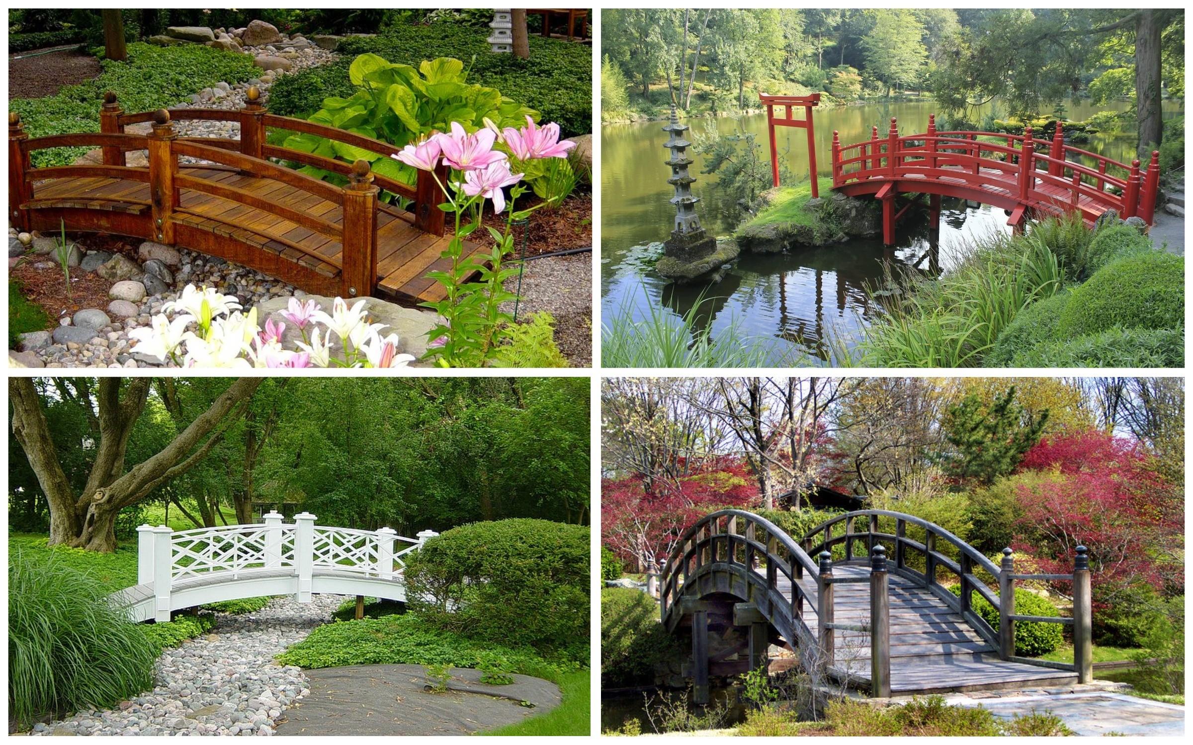изображение мостиков для сада