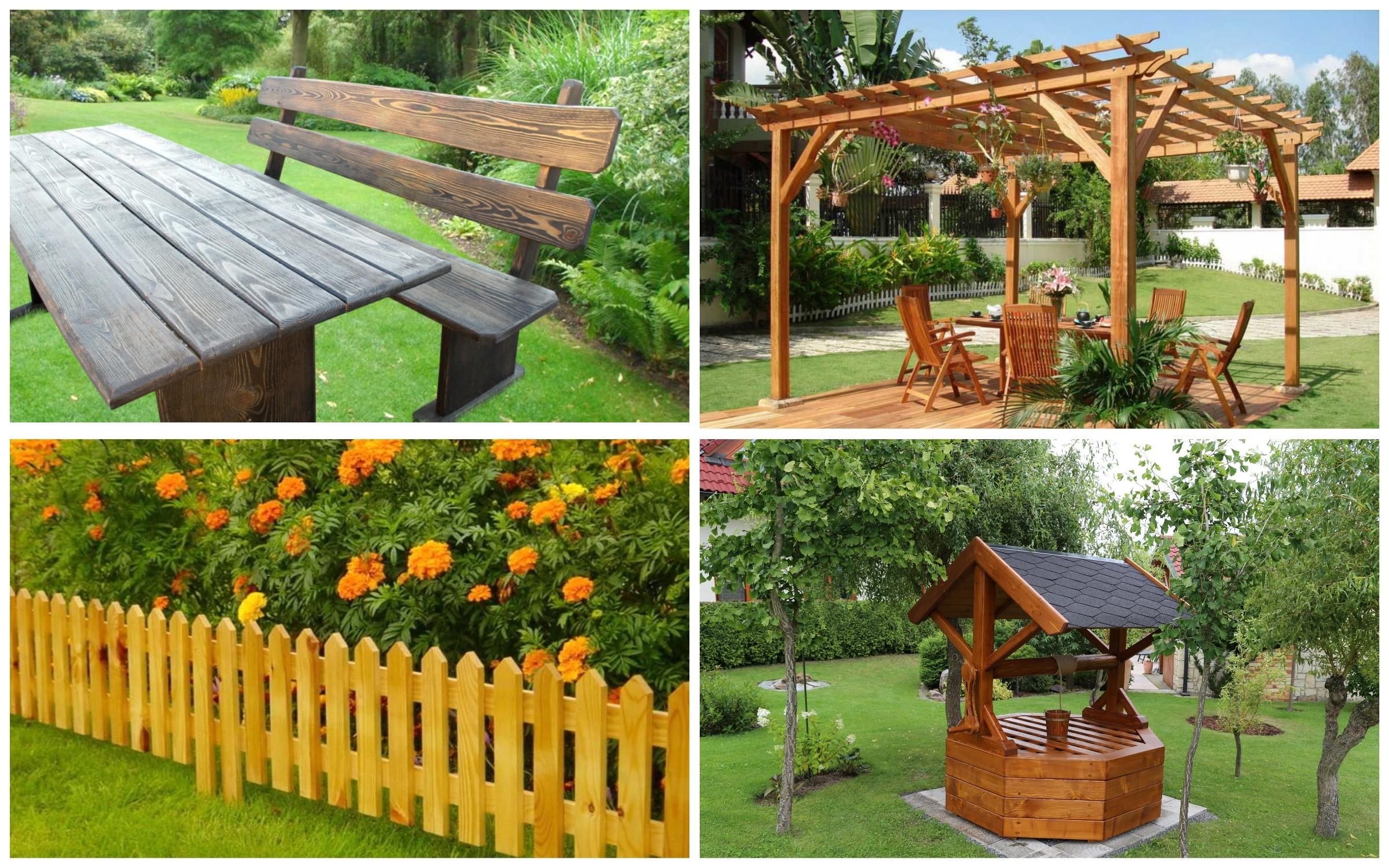 изображение деревянный садовых сооружений