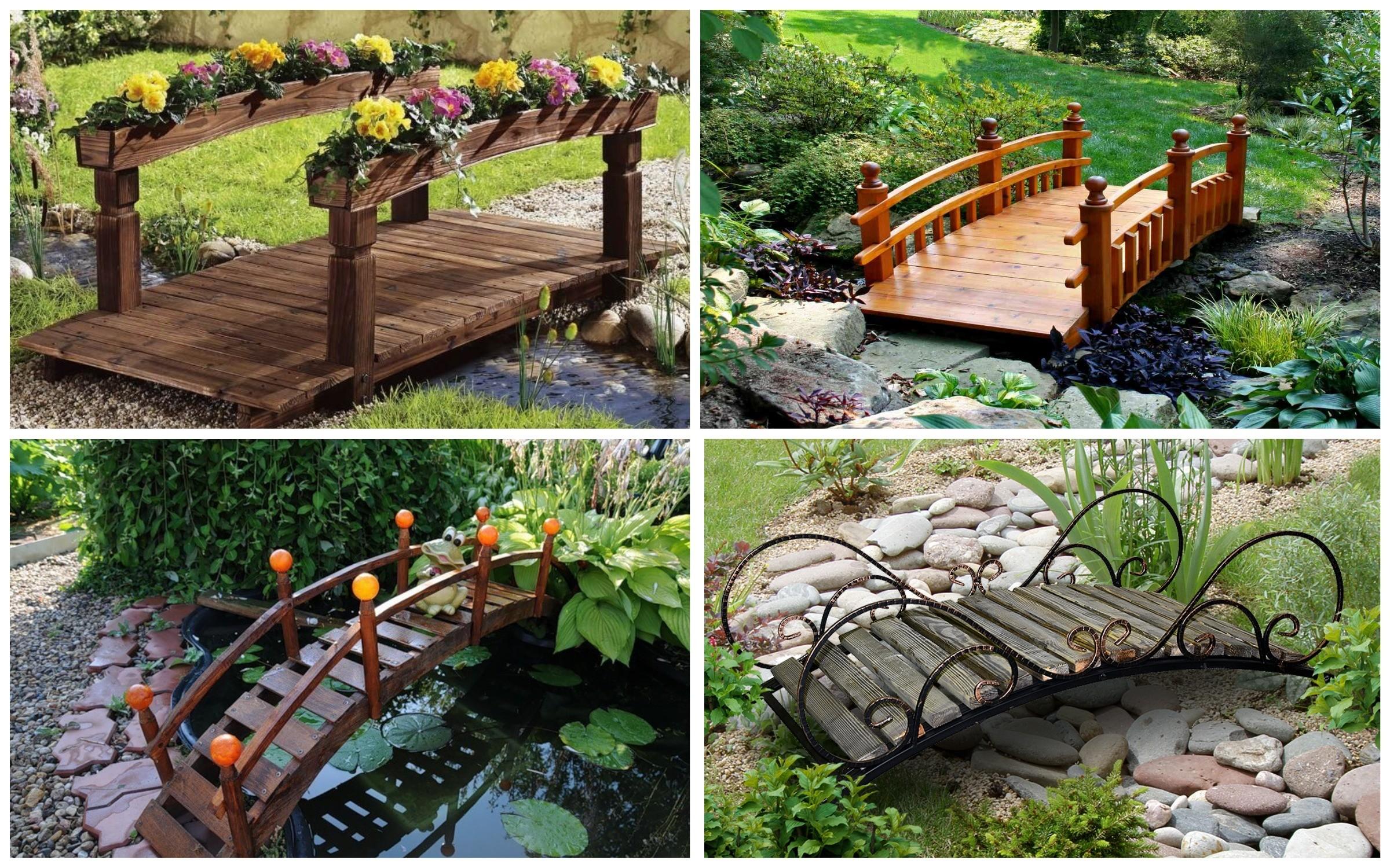изображение красивых мостиков в парке