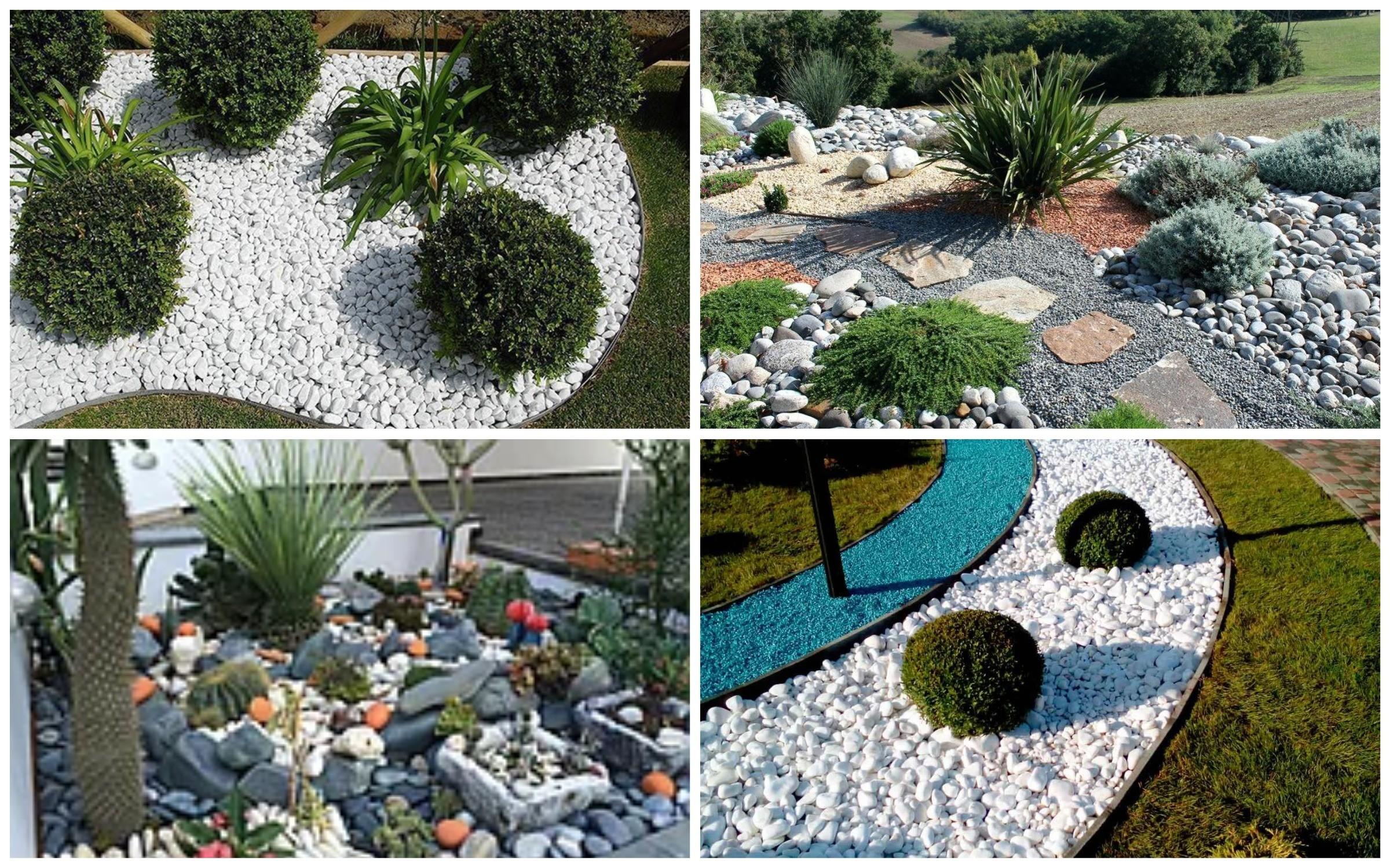 изображение декоративной гальки для сада
