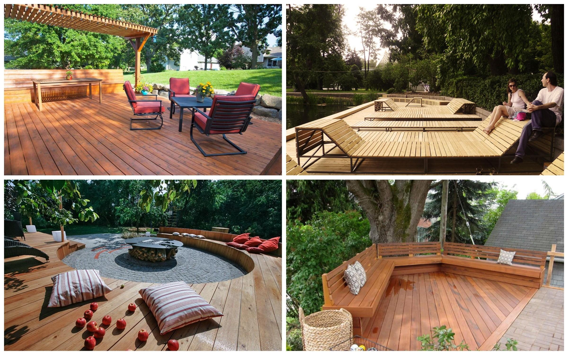изображение деревянного настила в местах отдыха