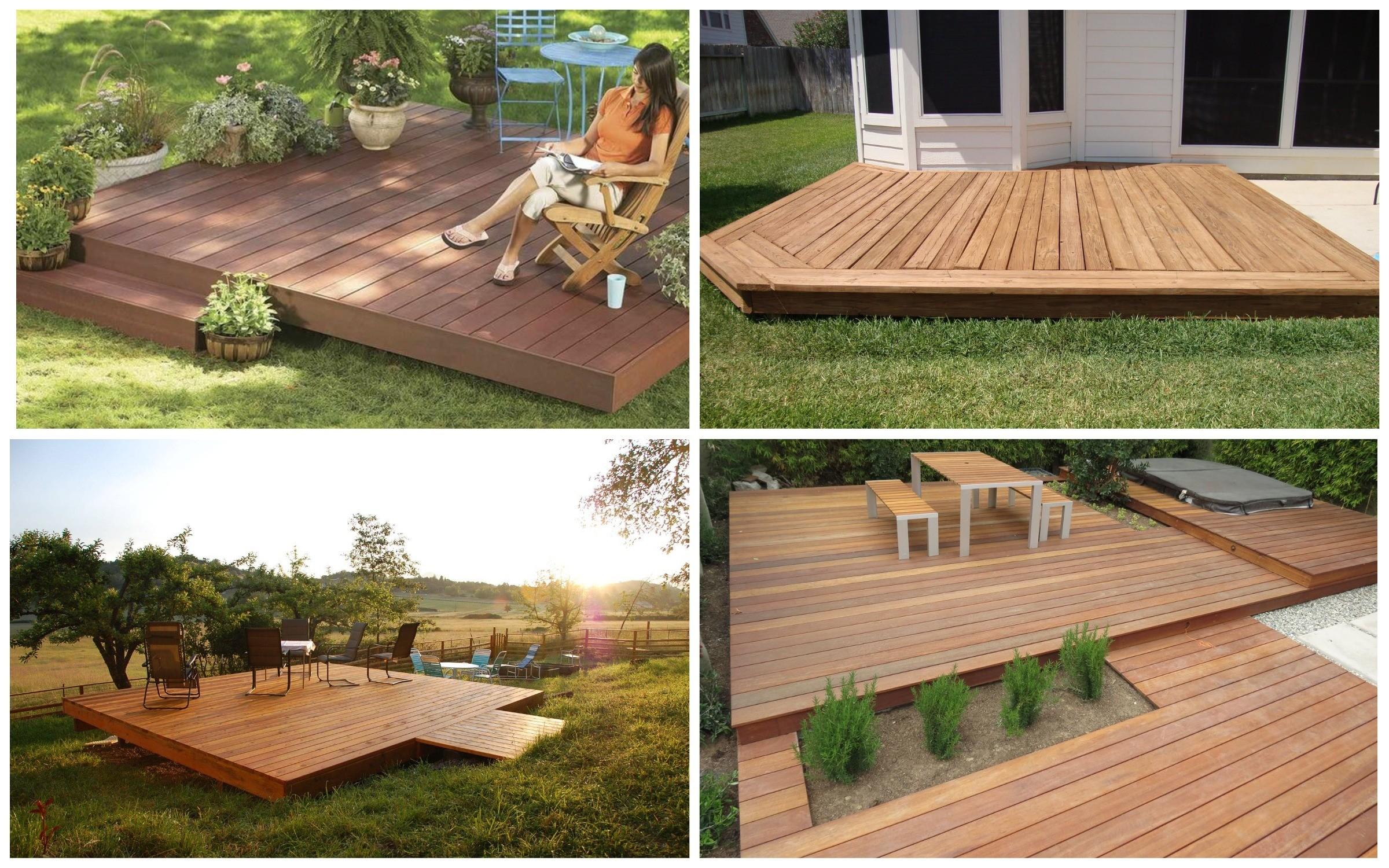 изображение деревянных платформ