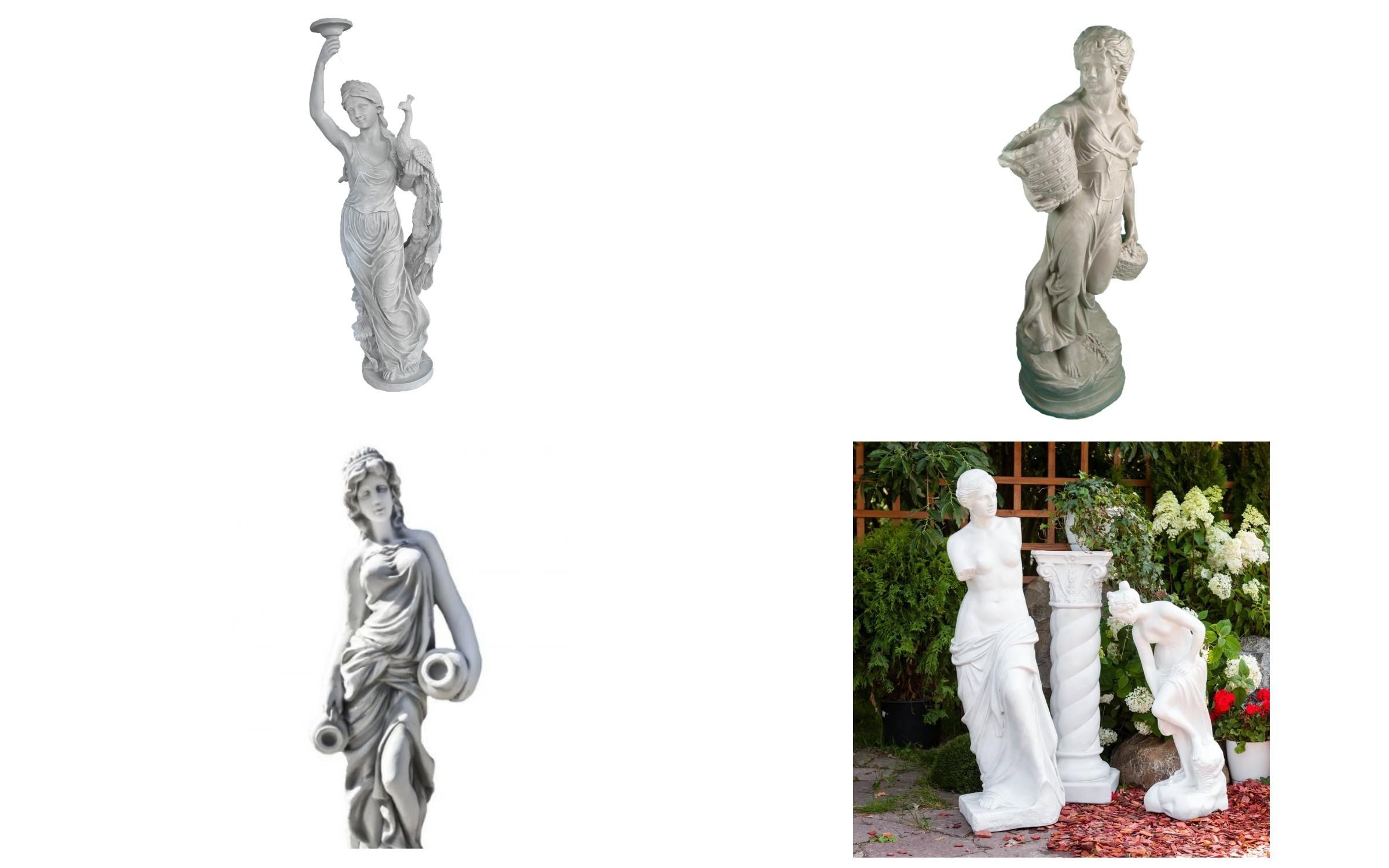 изображение скульптур из полистоуна