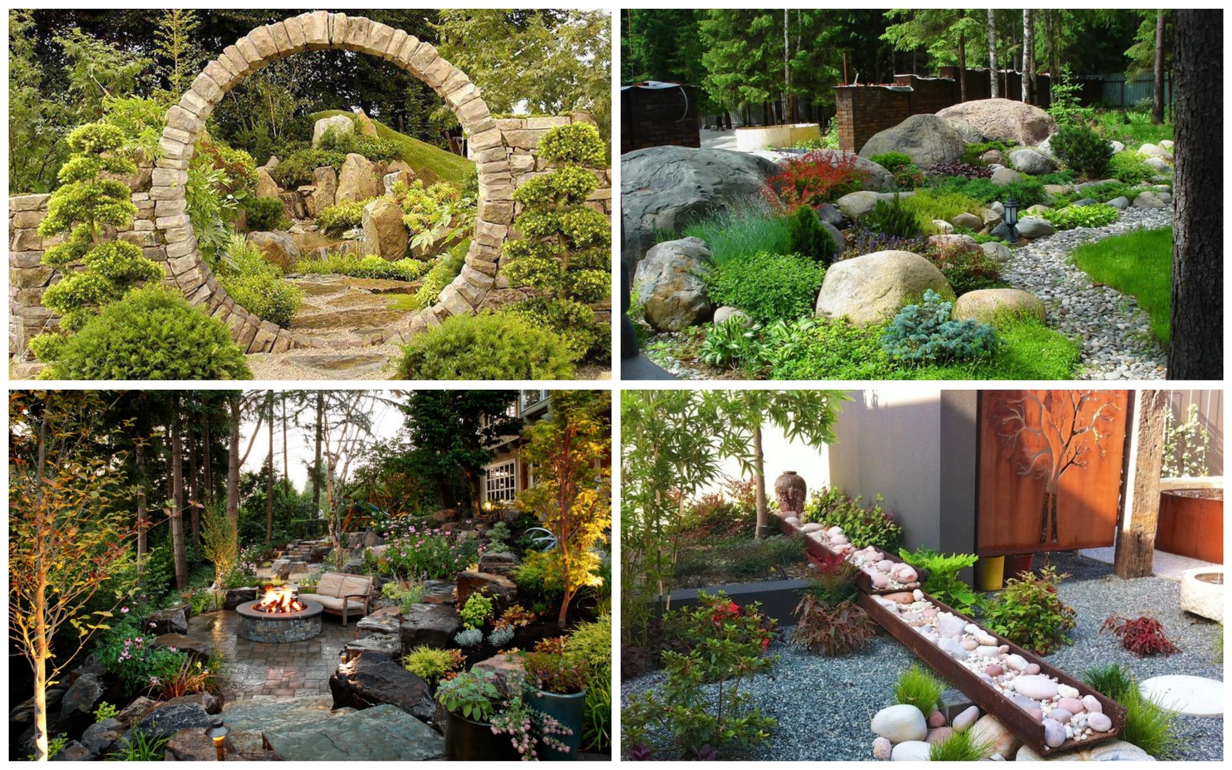 изображение сад из камней