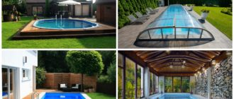 изображение бассейнов на даче