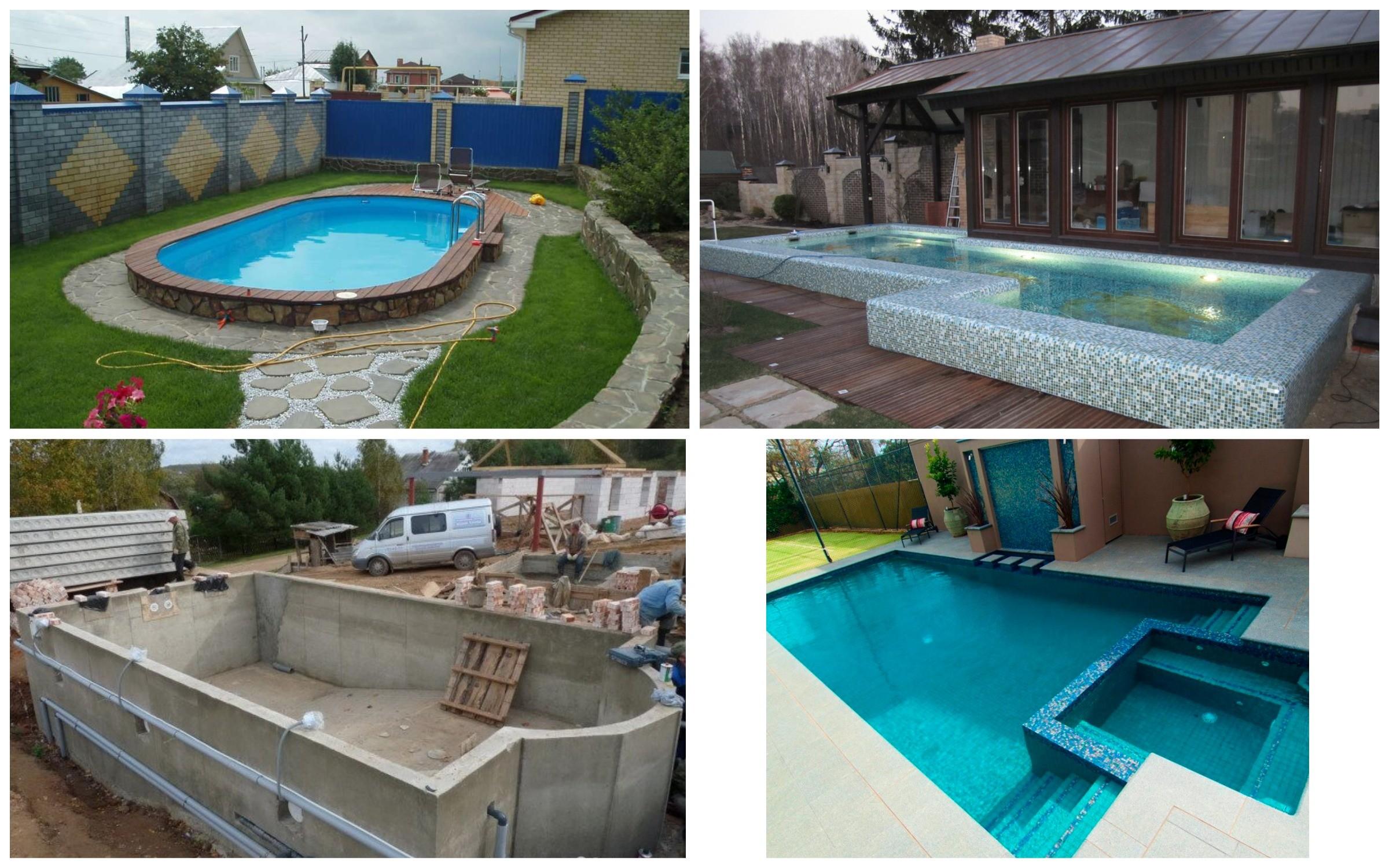 изображение бетонного бассейна