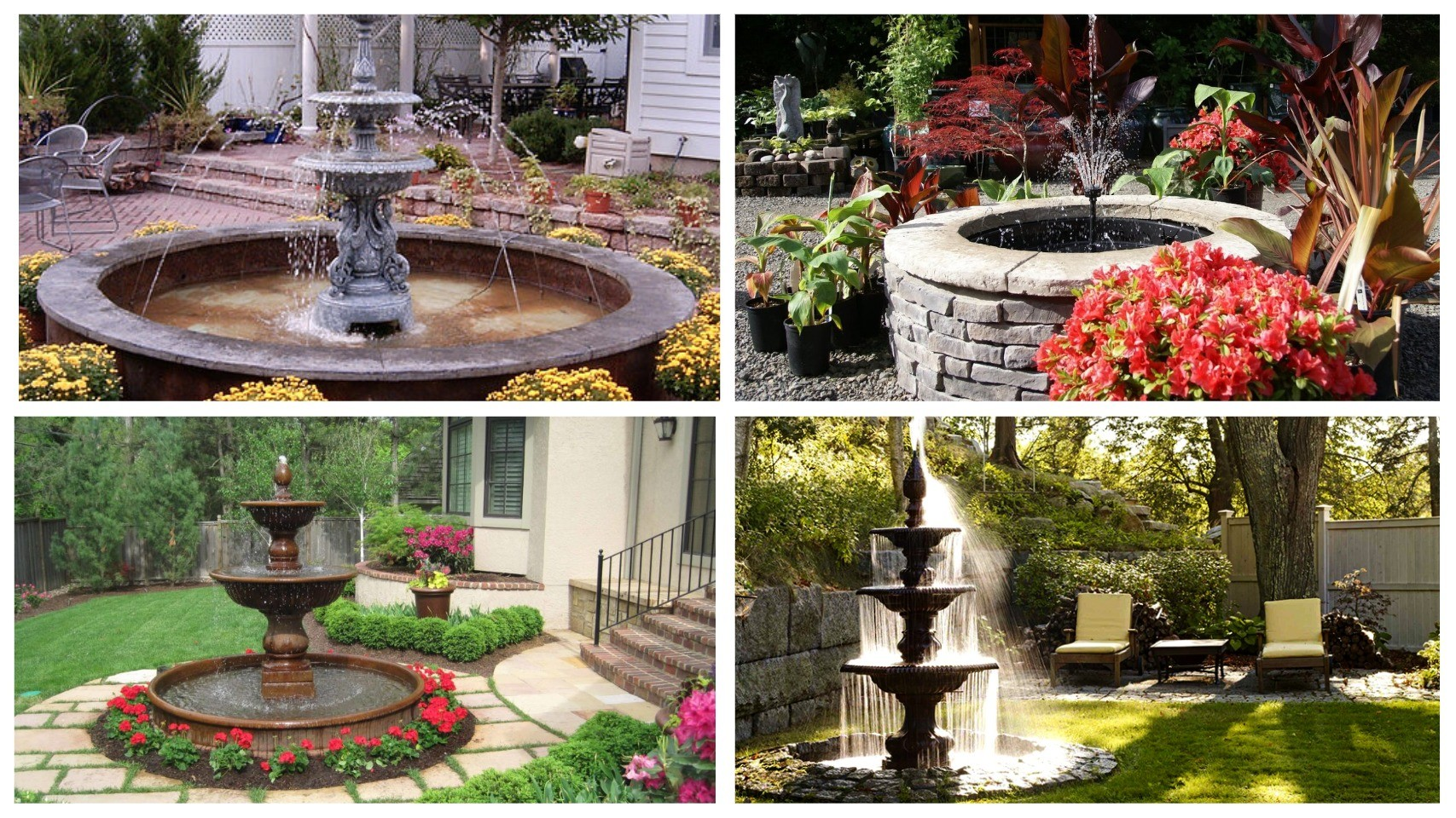 изображение фонтан для сада