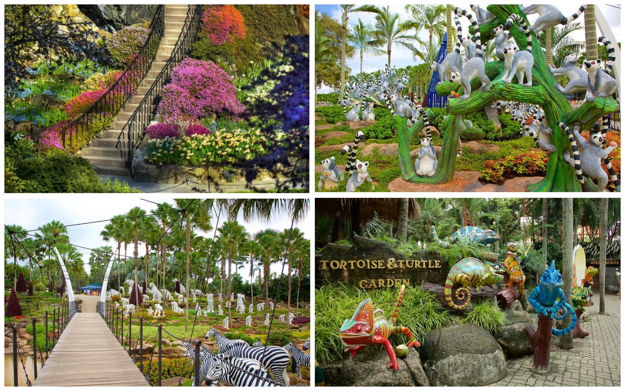 фото красивый парк nong nooch