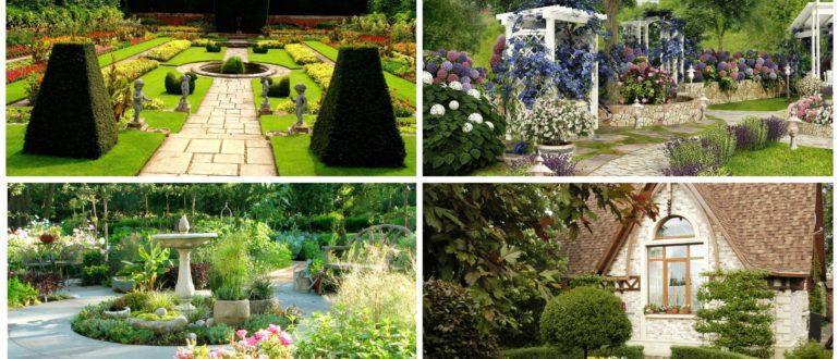 фото Французский стиль сада