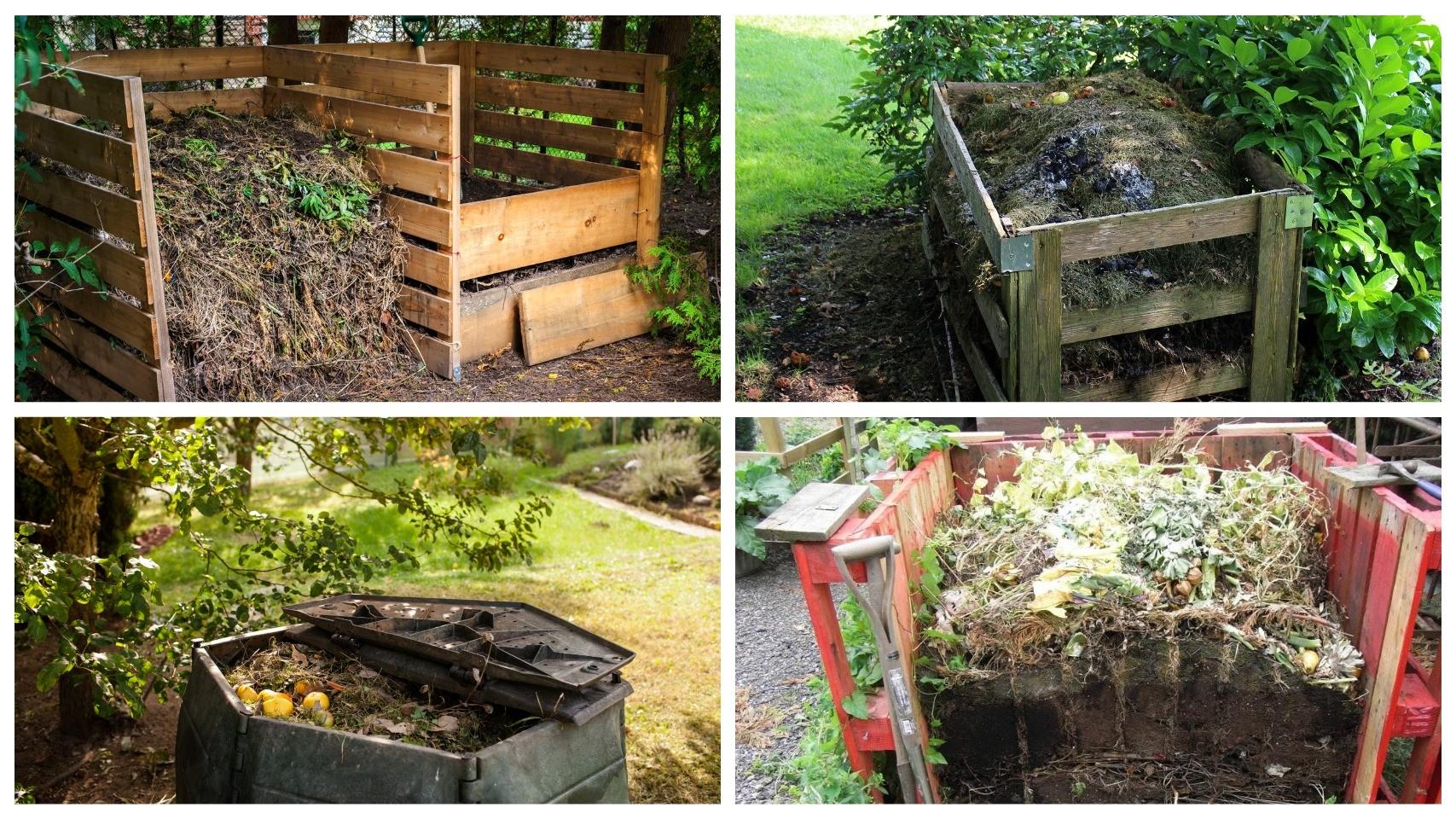 фото компостирование в саду
